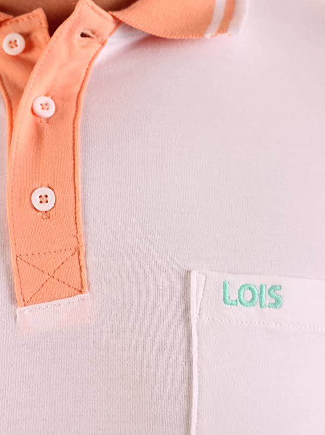 Lois Polo Blanco M: Amazon.es: Ropa y accesorios