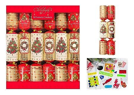 Toast Christmas crackers, set of six: £39, Toast