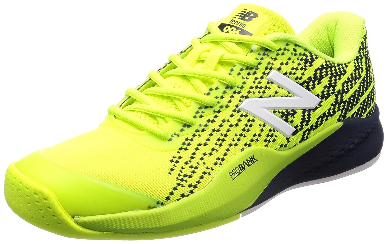 [ニューバランス] テニスシューズ MCO996 メンズ B072JLMXX3 26.5 cm D グレー/ホワイト