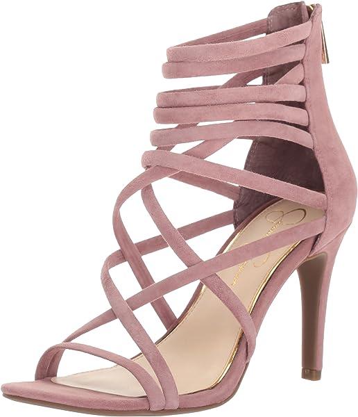 363d5c53fd9 Amazon.com  Jessica Simpson Women s Harmoni Heeled Sandal  Shoes