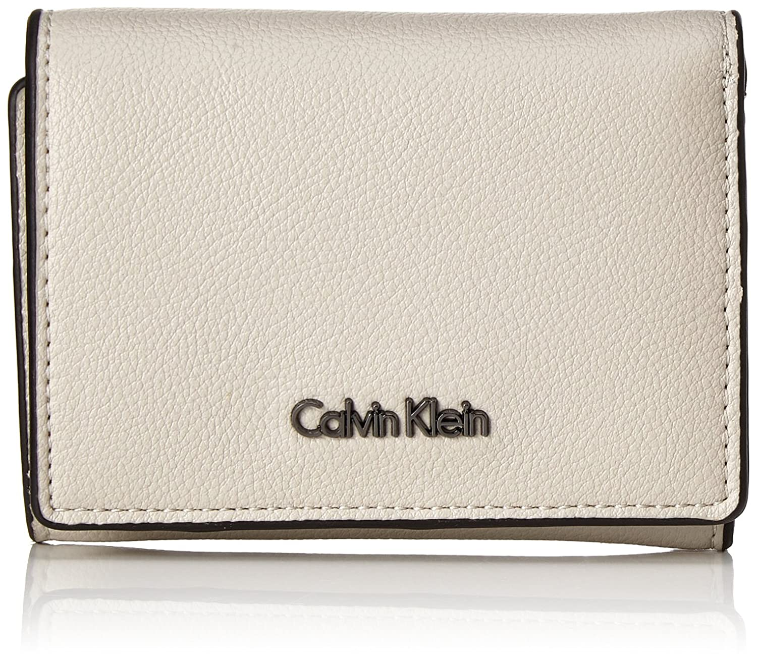 Calvin Klein - Giftset: Small Wallet+keyfob, Carteras Mujer, Gris (Cement), 8x3x11 cm (B x H T)