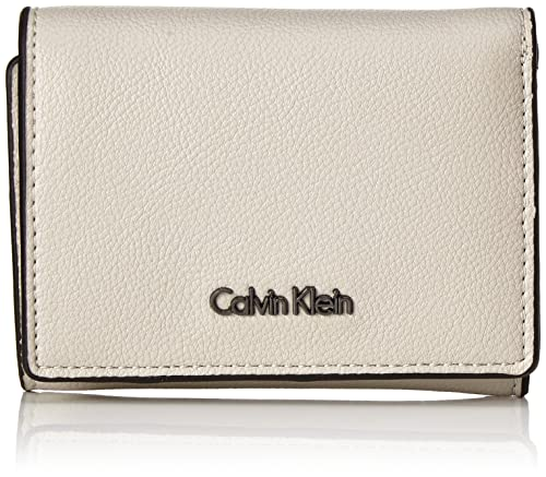 Calvin Klein - Giftset: Small Wallet+keyfob, Carteras Mujer, Gris (Cement
