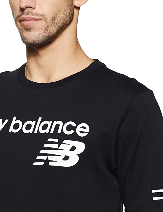New Balance NB Athletics Heritage Tee Black