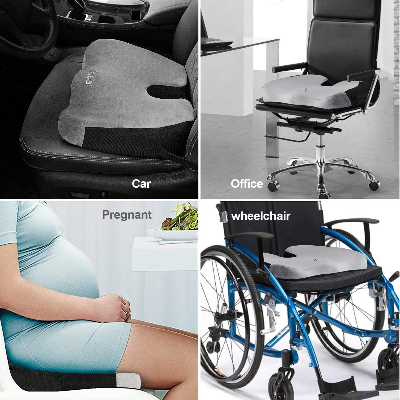 Cuscino cervicale Auto per/Guida,/Passeggeri Ortopedico Cuscino Collo Auto Feagar Cuscino poggiatesta Auto Cuscino Supporto del Collo per Seggiolino Auto Viaggio Nero
