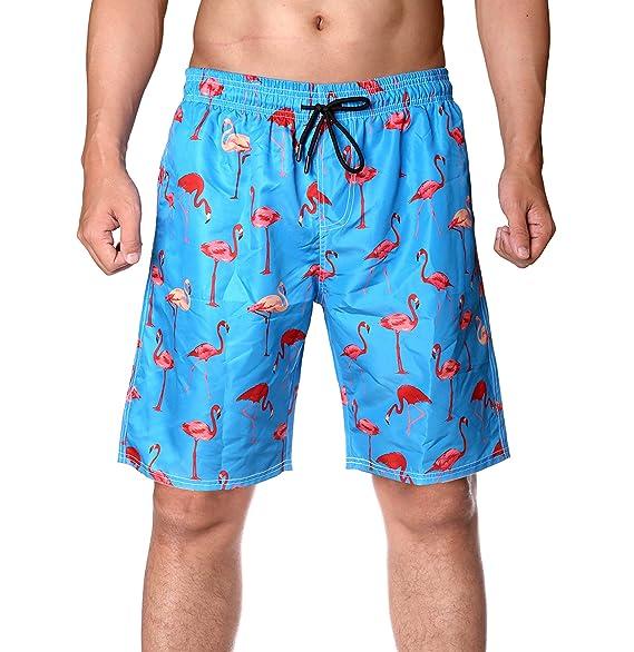 554c8cce1dd2f0 WENER Men's Short Swim Trunks,Best Board Shorts for Sports Running Swimming  Beach Surfing,