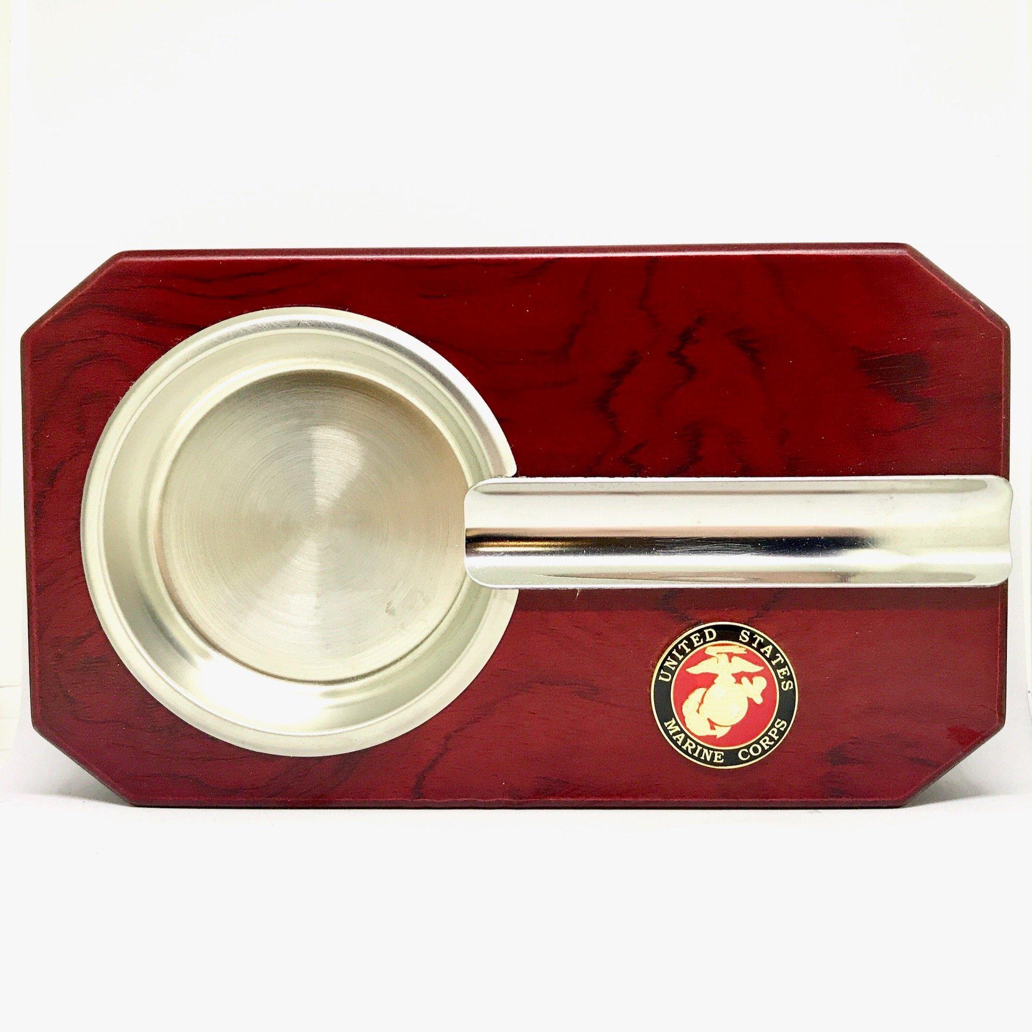 US Marines Cigar Ashtray - Military Cigar Accessories