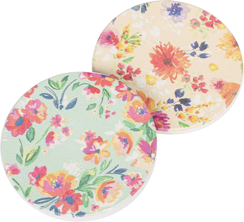 Amazon Com Watercolor Floral Wallpaper Look 2 75 X 2 75