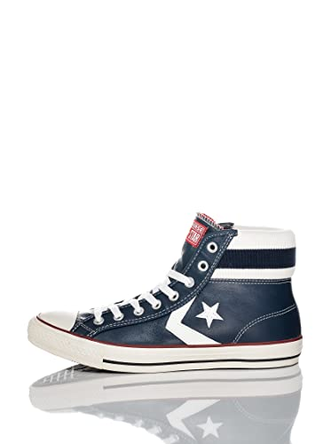 0d26df7189a58b ... star player leather mid cuff navy 119833 red white blue size 10.5 26c43  11f97 discount code for converse star player cuff rib mid sneakers black  jester ...