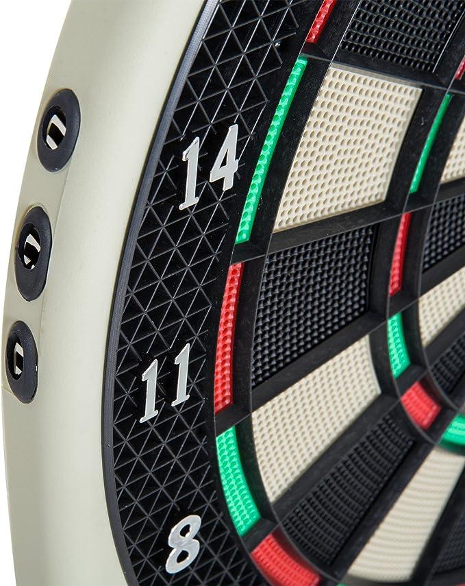 HOMCOM Diana electrónica 6 Dardos Juego Digital con Sonido 18 Juegos 159 Variantes: Amazon.es: Deportes y aire libre