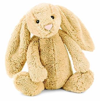 Jellycat Bashful Bunny - Conejo de peluche (31cm), color beige