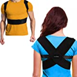 Posture Corrector for Women and Men - Posture Brace - Posture Support - Adjustable Clavicle Support - Prevent Slouching & Hunching