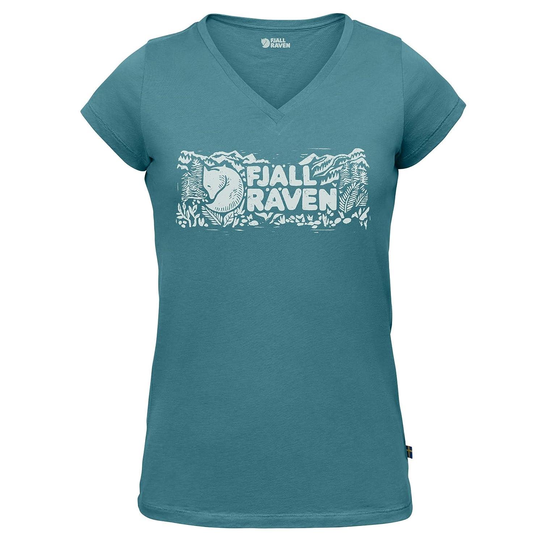 Fjä llrä ven Damen Logo Stamp T-Shirt W Fjällräven F89982