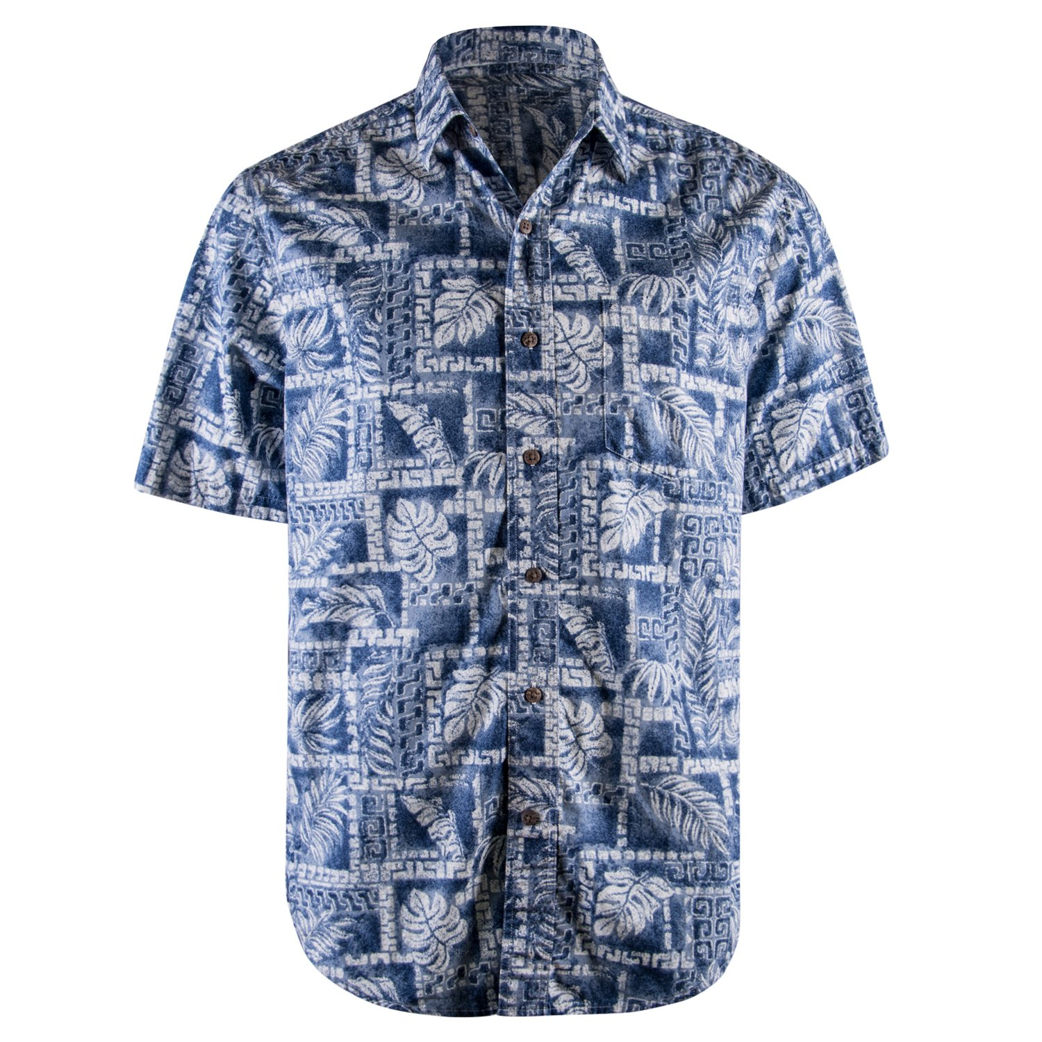 Fun And Funky Hawaiian Button Down Short Sleeved T Shirts For Men In
