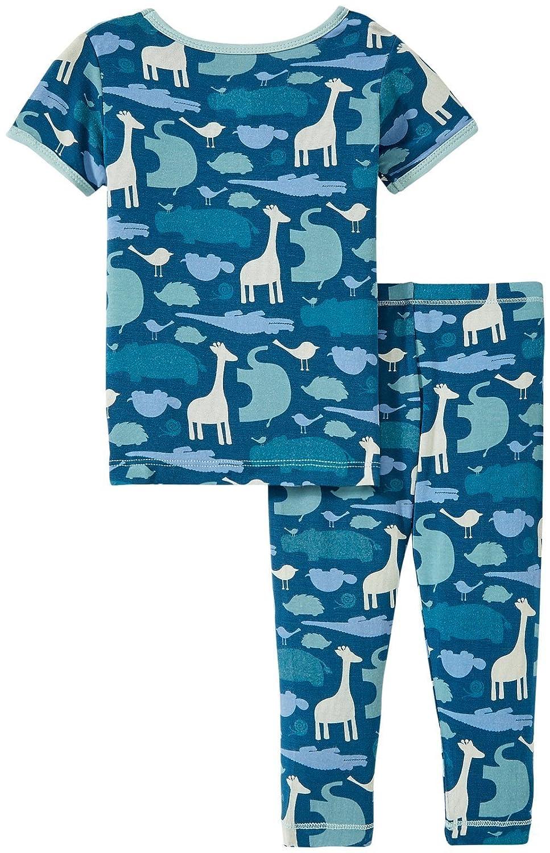 Kickee Pants Baby Boys Print Short Sleeve Pajama Set Prd-kppj108s16d2-pcma