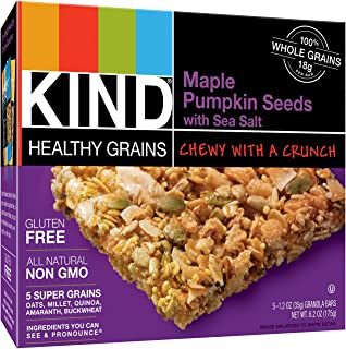 product image for Kind Maple Pumpkin Seed Bar with Sea Salt, 5 Count (Pack of 8)