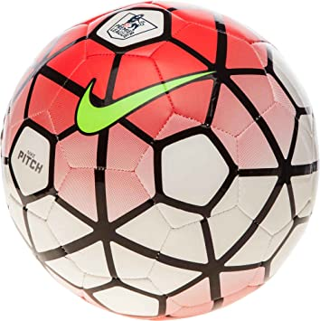 Nike Ball Pitch Balón, Unisex, White/Brtcrm/Black/Volt, 3: Amazon ...