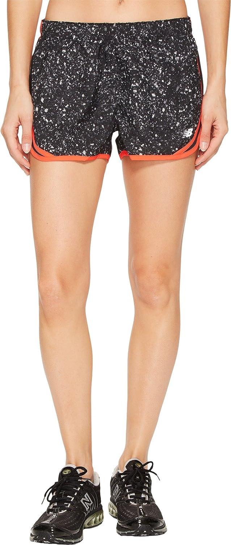New Balance Women's Accelerate 2.5' Printed Shorts New Balance Clothing WS53163-P