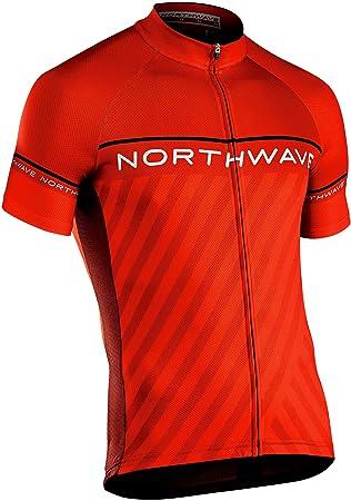 Northwave Stealth Fahrrad Trikot kurz rot 2019