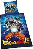 Herding Dragon Ball Super Juego de Cama, algodón, 200x 135cm