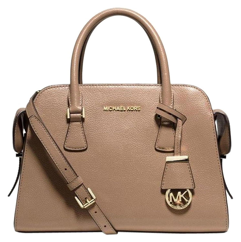 285bc8797e9a ... Harper Medium Pebbled Leather Satchel Crossbody Bag (Dk Dune) Handbags  Amazon NWT MICHAEL Michael Kors Selma Medium Satchel Saffiano Leather  Clementine ...