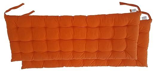 Amazon.com: Cottone banco de 100% algodón almohadillas para ...