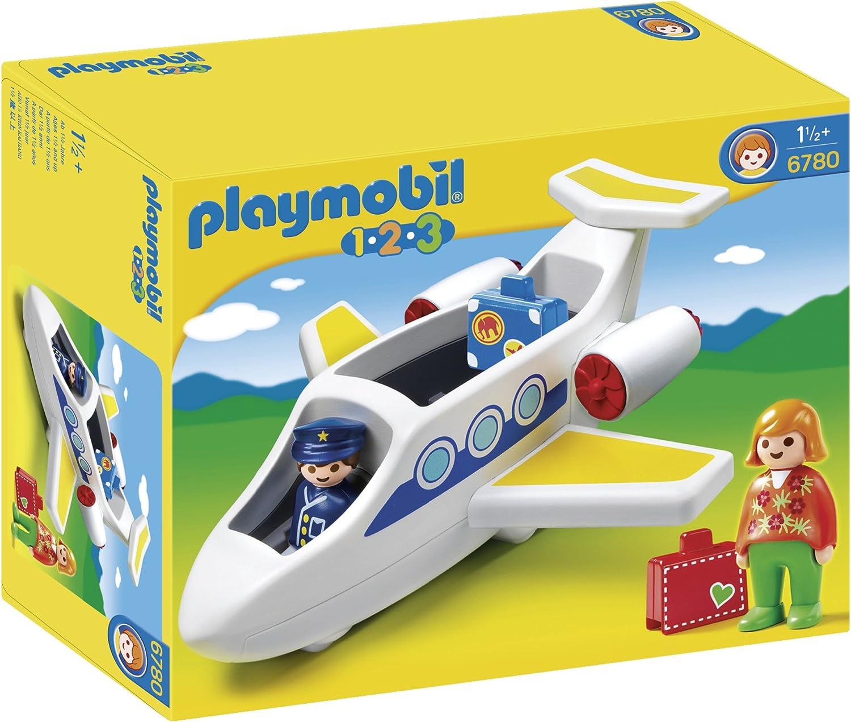 PLAYMOBIL - 1.2.3 Avión (6780)