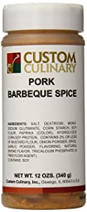Custom Culinary Pork Barbeque Spice, 12 Ounce