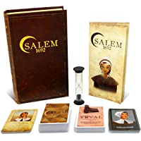 Salem 1692 Board Game - Witch Hunt Game for Friends and Family - A Game of Cards, Strategy, Deceit, and Luck for 4-12…