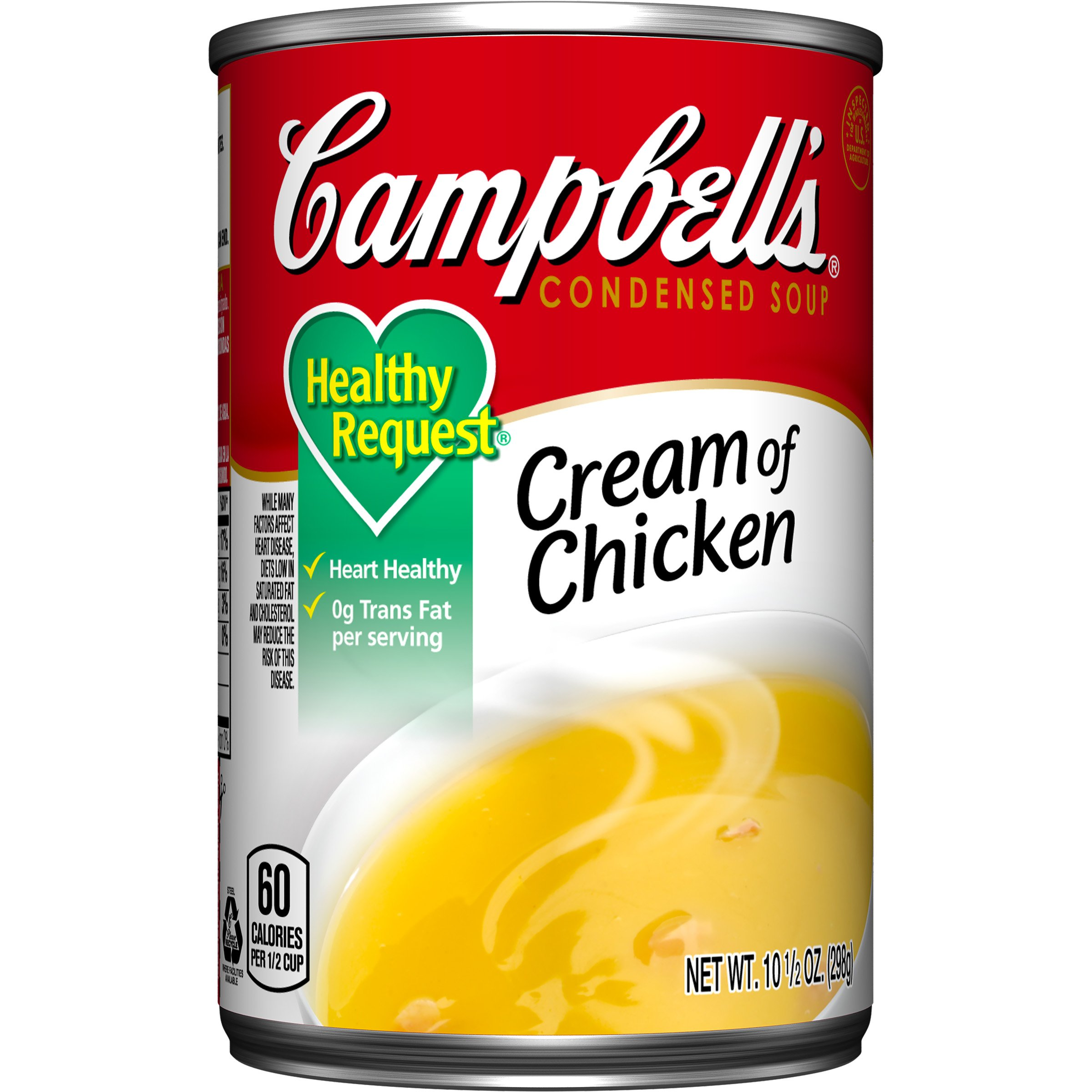Campbell's Healthy Request Condensed Soup, Cream of Chicken, 10.5 Ounce (Pack of 24) by Campbell's