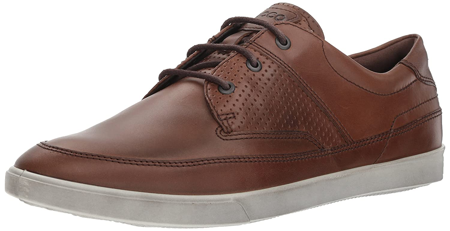 1b0012c619 ECCO Men's Collin Nautical Sneaker, Cocoa Brown Perf, 13-13.5 M US