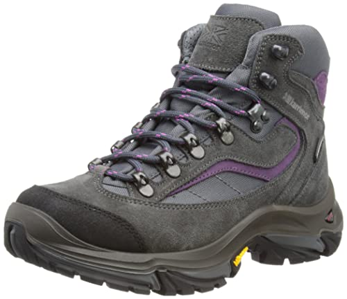 Karrimor Scarponcini da camminata, Donna, colore grigio (black sea/purple),