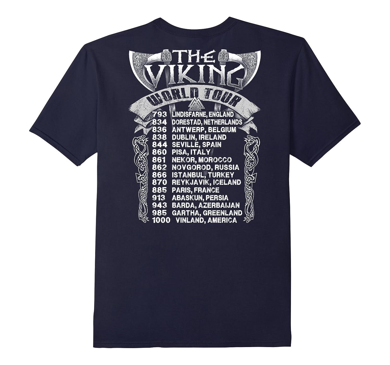 The Viking World Tour T-Shirt-FL