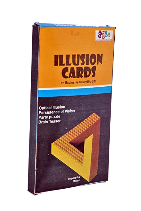Buy kutuhal illusion cards puzzle kit do it yourself kutuhal illusion cards puzzle kit do it yourself educational toy return gift solutioingenieria Choice Image