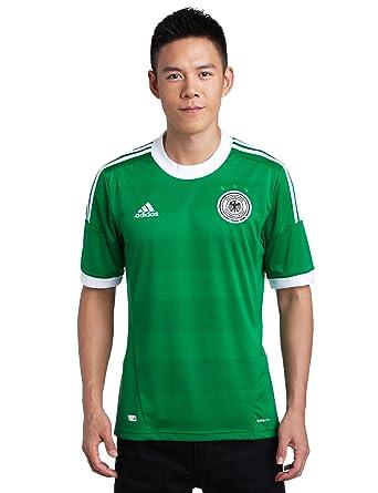 Adidas - Camiseta de fútbol sala para hombre, tamaño XXL, color verde/blanco
