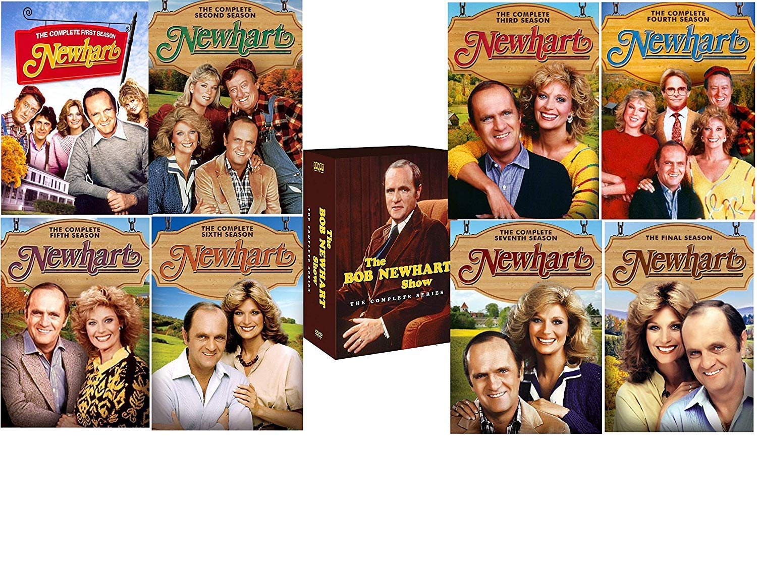 Newhart: The Complete 1980s TV Series Seasons 1-8 +The Bob Newhart Show: The Complete Series