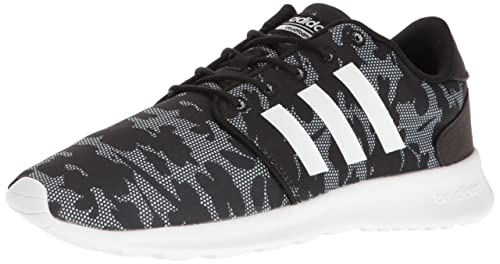 Image Unavailable. Image not available for. Colour  adidas NEO Women s Cloudfoam  QT Racer W Running Shoe Black White Black 6.5 a2029e2cc