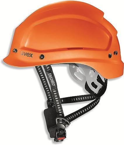 Uvex Pheos Alpine Casco de Trabajo y Alpinismo Certificado EN 397 y EN 12492 - Casco de Salvamento Casco Deportivo Casco de Escalada Casco de Senderismo Casco Protector Casco de Construcción Casco