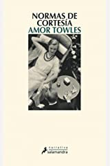 Normas de cortesía (Spanish Edition) Kindle Edition