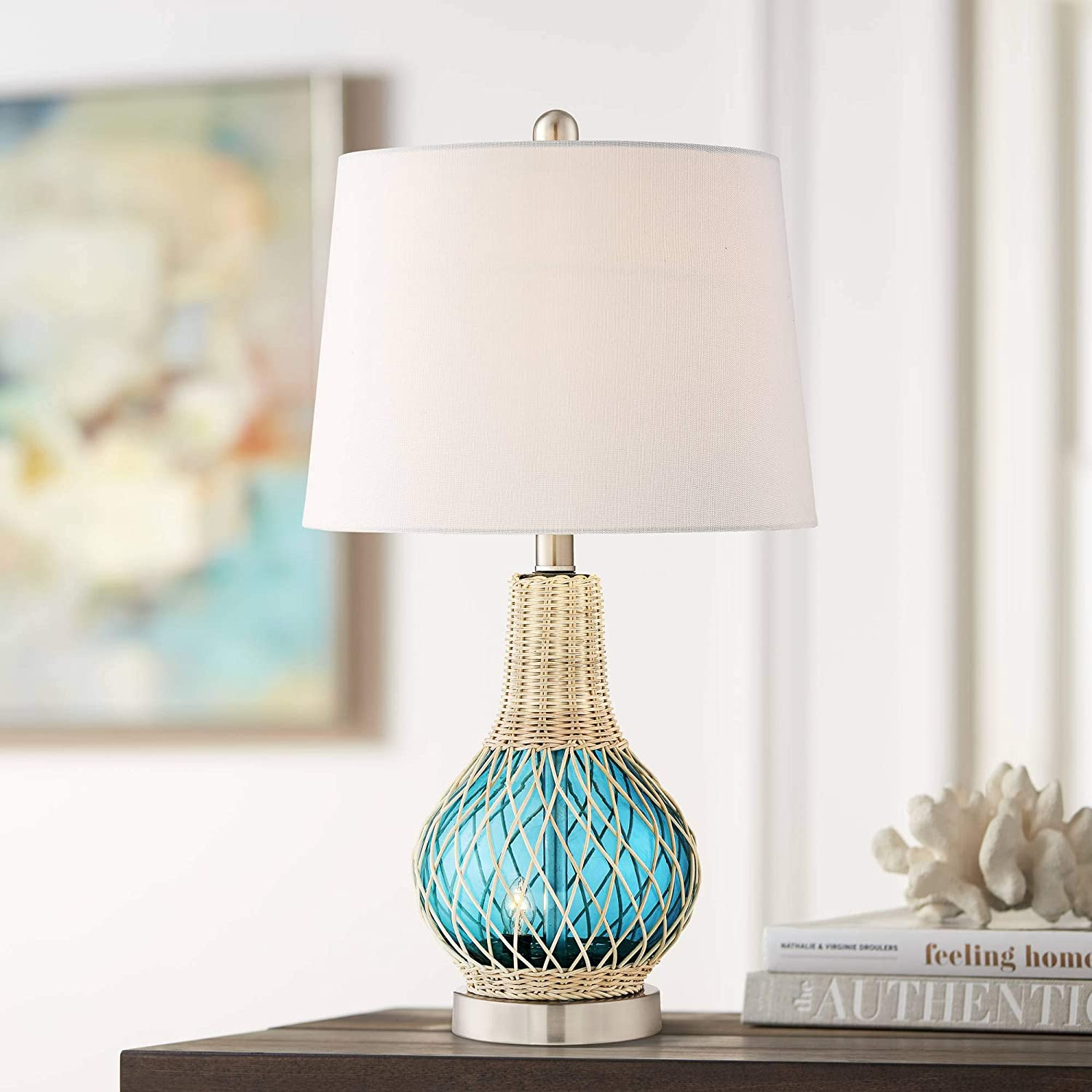 Alana Coastal Accent Table Lamp