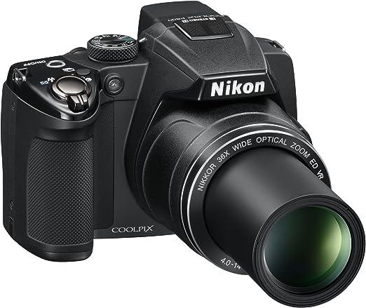 Nikon Coolpix P500 Digitalkamera 3 Zoll Schwarz Kamera