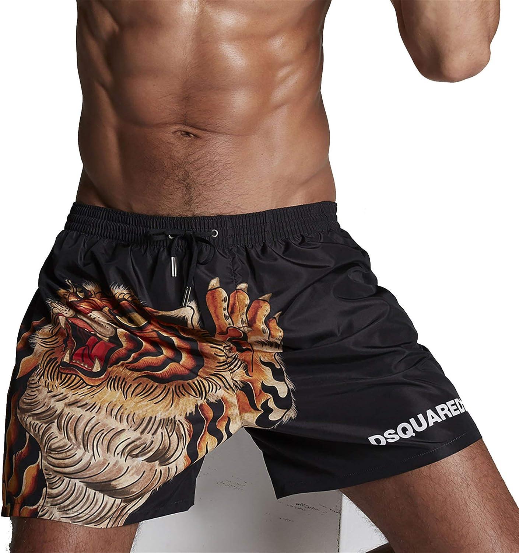 DSquared Costume Boxer Uomo D7B553450 Nero
