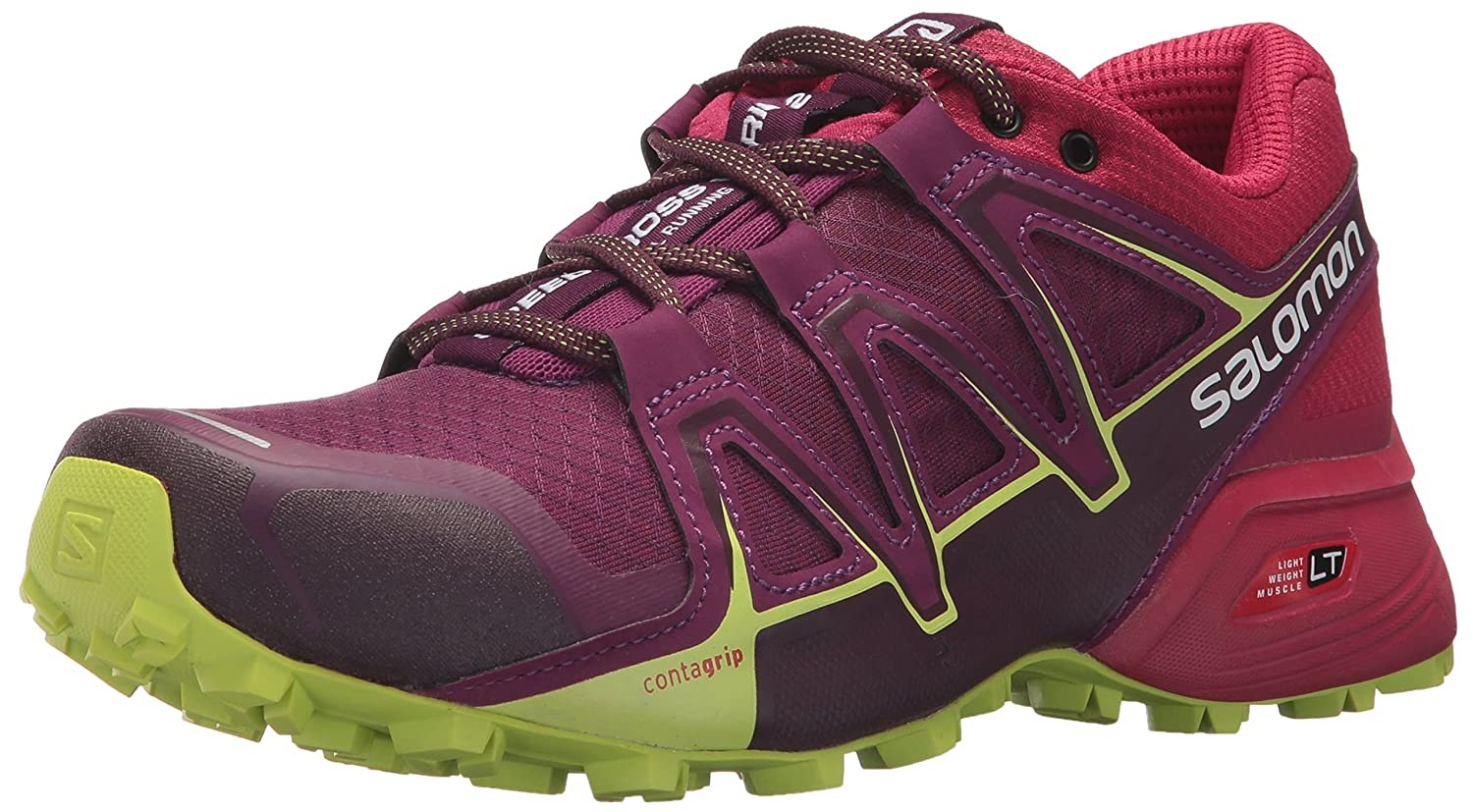 Salomon Women's Speedcross Vario 2 W Backpacking Boot B073K3X9WC 5.5 B(M) US|Dark Purple