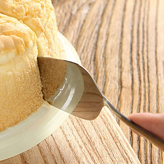 Set 12 Piezas Servidor de Pasteles con Asa - Rebanador de Pasteles de Acero Inoxidable para Pasteles de Bodas, Cumpleaños y Más - Pala Cortar Pasteles ...