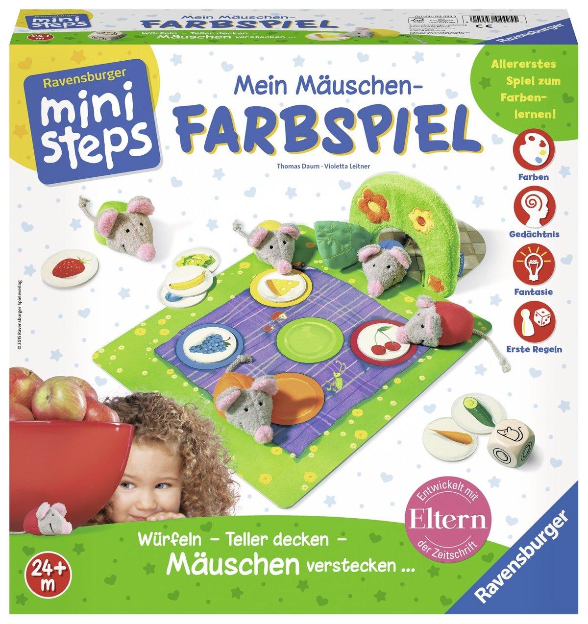 Ravensburger ministeps 04621 - Mein erstes Mitmach-Spiel: Amazon.de ...