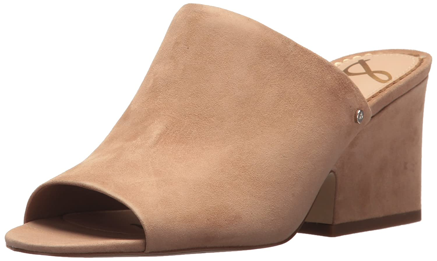 Sam Edelman Women's Rheta Wedge Sandal B072NBMQV4 10 B(M) US|Golden Caramel Suede
