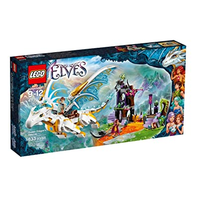 DISCO - #41179 LEGO Queen Dragon's Rescue (Elves): Toys & Games