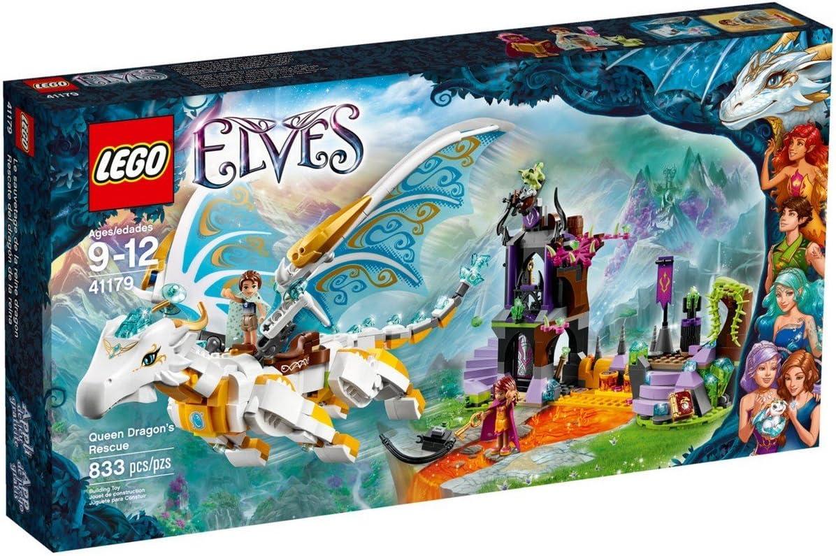 Rescue of Lego elf Queen Dragon 41179 by LEGO