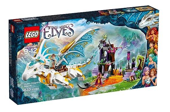 De Dragon Reine Elves Sauvetage Lego La Le 41179 F1lKTJc