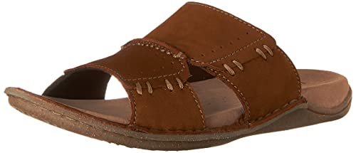 Hush Puppies Men's Rayland Grady Dress Sandal, Tan Nubuck, ...