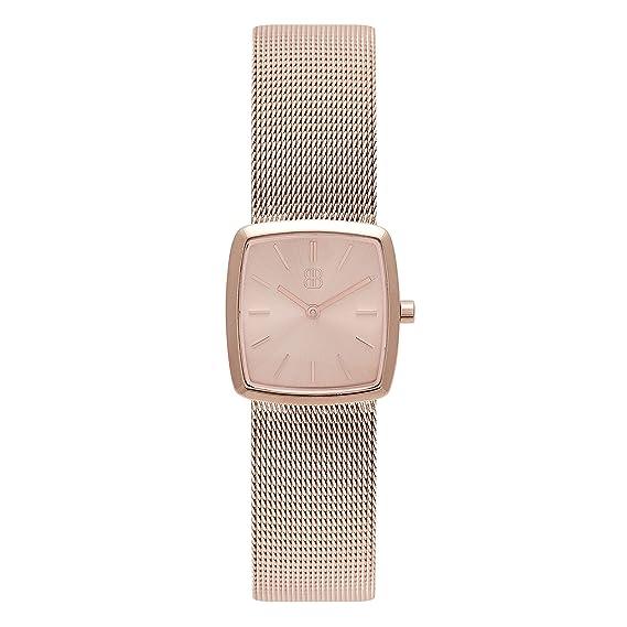Reloj de cóctel cuadrado de 26 mm para mujer, elegante e impermeable, retro,